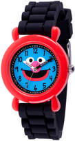 Sesame Street Boys Black Strap Watch-Wss000035