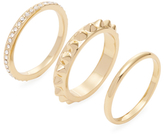 Rebecca Minkoff Stack of Three Rings