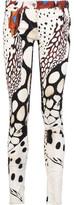 Roberto Cavalli Printed Cotton-Blend Twill Skinny Pants