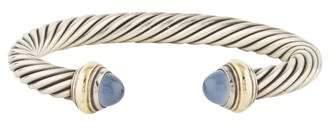 David Yurman Cable Classics Dyed Chalcedony Cuff