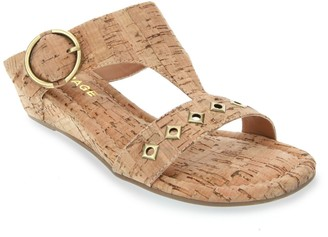 Rampage Simara Women's Demi-Wedge Cork Sandals