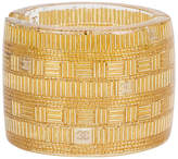 One Kings Lane Vintage Chanel Clear & Gold Lucite Cuff Bracelet