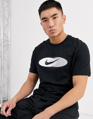 Nike Re-Issue t-shirt in black