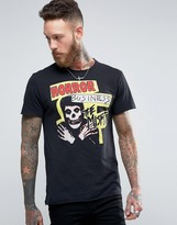 Pull&Bear T-Shirt With The Misfits Print In Black