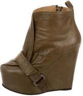 Acne Studios Platform Ankle Boots