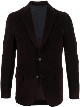Eleventy Button Up Corduroy Jacket