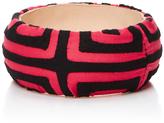Mola Sasa Pink and black printed bangle