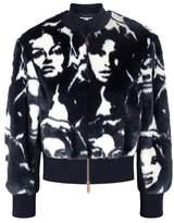 Stella McCartney Faces Faux Fur Bomber Jacket