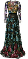 Gucci Floral Organdy maxi dress