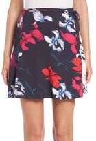 Thakoon Self-Tie Floral A-Line Skirt