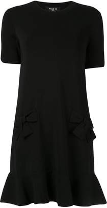 Paule Ka peplum shift dress