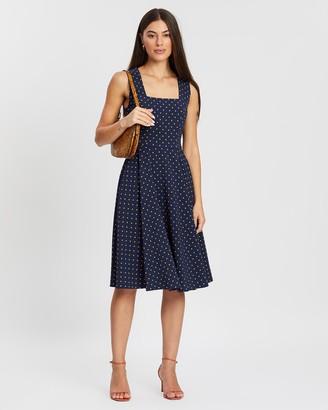 Review Sienna Spot Dress