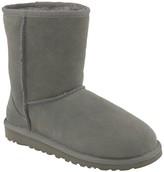 UGG Classic Short Genuine Sheepskin Lined Boot (Big Kid)