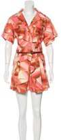 Missoni Abstract Print Short Sleeve Romper