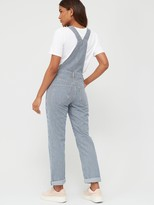 Very Ticking Stripe Dungarees - Stripe