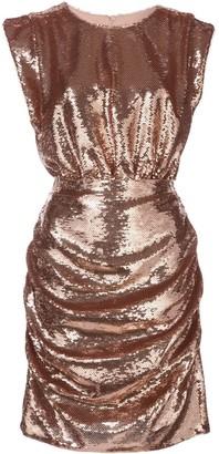 Aidan Mattox sequin embellished dress