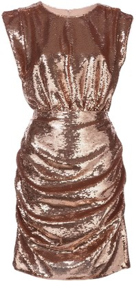 Aidan Mattox Sequin Embellished Dress