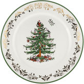 Spode Christmas Tree Gold Collection Round Porcelain Serving Platter