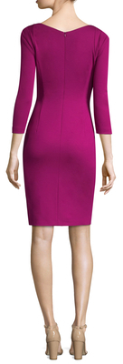 Escada Digrassa 3/4 Sleeve Dress