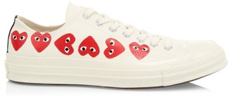 Comme des Garcons Multi Heart Low-Top Sneakers