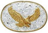 Crumrine Western Belt Buckle Patriotic Eagle C01099