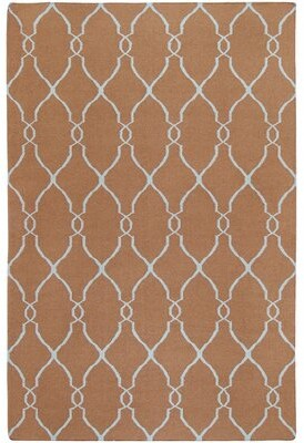 Surya Fallon Wool Mocha Area Rug Rug Size: Rectangle 8' x 11'