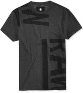 G Star Men's Graphic-Print Cotton T-Shirt