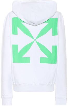 Off-White Logo cotton-jersey hoodie