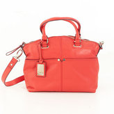 Tignanello Polished Convertible Satchel - Tomato