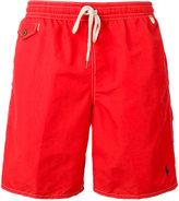Polo Ralph Lauren drawstring swim shorts - men - Nylon/Polyester - S
