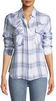 Rails Pepper Button-Front Long-Sleeve Plaid Shirt
