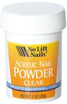 No Lift Nails Clear Organic Polymer Powder