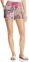 Aqua Boho Printed Shorts - 100% Exclusive