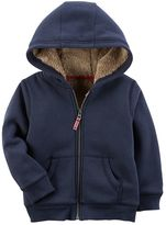 Carter's Boys 4-7 Sherpa-Lined Hoodie