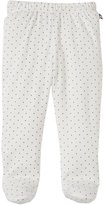 Oeuf Footie Leggings (Baby) - White-3 Months