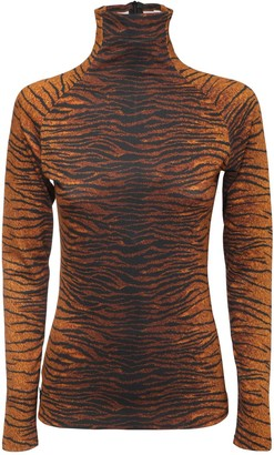 Kenzo Printed Stretch Jersey Top