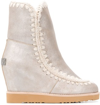 Mou high Eskimo ankle boots