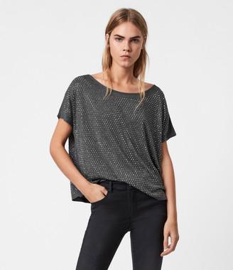 AllSaints Helene Sparkle T-Shirt