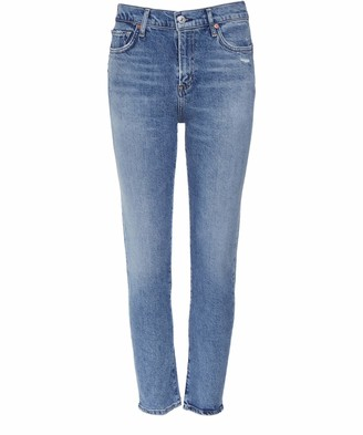 Citizens of Humanity Women's Slim Fit Harlow Ankle Jeans Blue 30