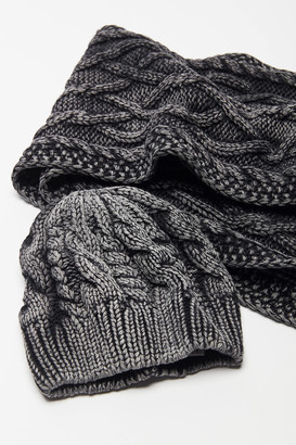 Urban Outfitters Dyed Cable Knit Beanie