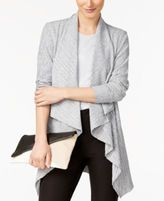 Alfani Draped Knit Cardigan, Created for Macy's