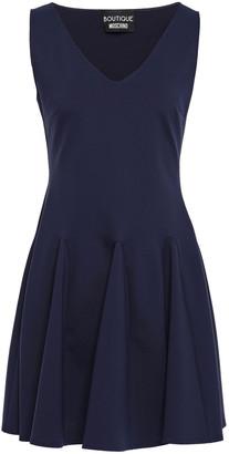 Boutique Moschino Flared Ponte Mini Dress