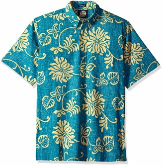 Reyn Spooner Men's Nanea Spooner Kloth Classic Fit Pullover Shirt