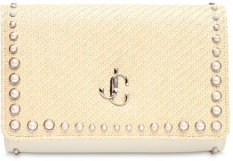 Jimmy Choo Varenne Clutch Bag W/studs