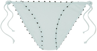 Marysia Swim St Tropez Knotted Low-rise Bikini Briefs
