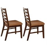 Branton home 2-Piece Eden Side Chair Set