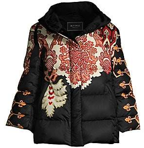 Etro Women's Nomad Down Fill Cropped Puffer Coat