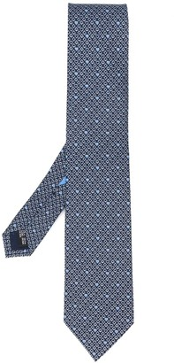 Salvatore Ferragamo Playing Cards Print Tie