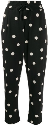 Parker Chinti & polka dot trousers