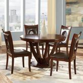 Holmes HomeSullivan 5-Piece Wood Dining Set in Rich Cherry